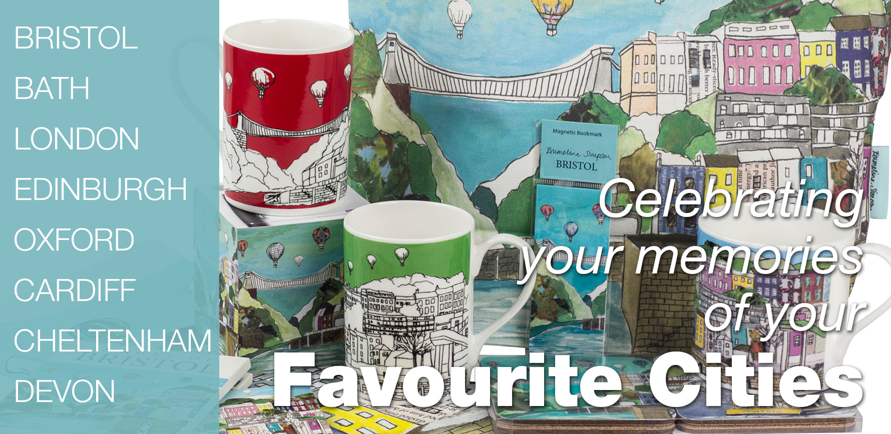 Celebrating your memories of your favourite cities