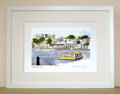 Harbourside View Bristol Print