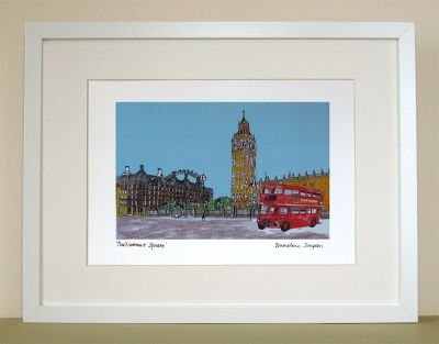 Parliament Square London Print
