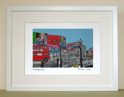 Piccadilly Circus London Print