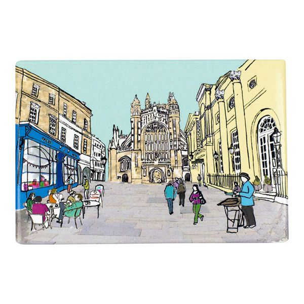 Bath Abbey Fridge Magnet