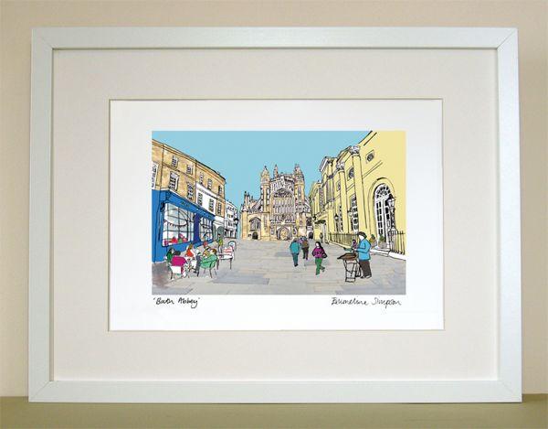 Bath Abbey Print