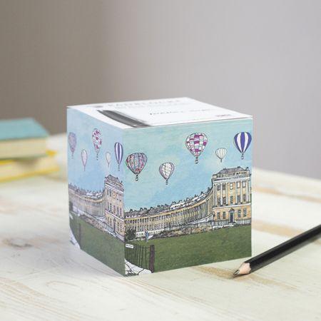 Balloons over Royal Crescent, Bath Padblock