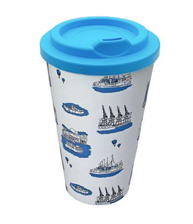 Bristol Blue Travel Mug
