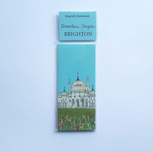 Brighton Magnetic Bookmark
