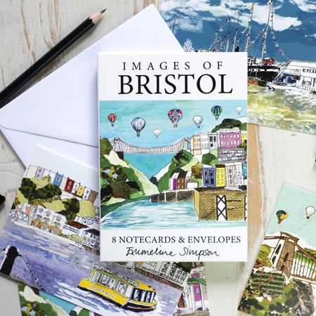 Images of Bristol Set of 8 Notecards