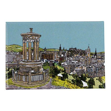 Calton Hill, Edinburgh Fridge Magnet