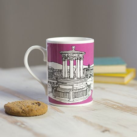 Edinburgh Mug Pink