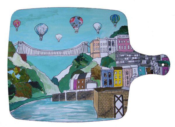 Clifton Balloons Chopping board