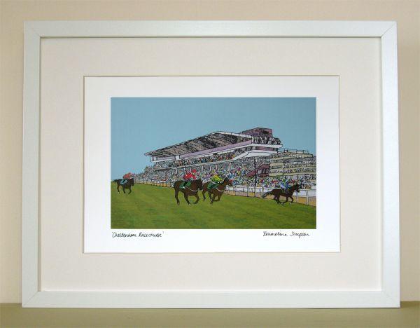 Cheltenham Racecourse Print