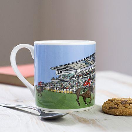 Cheltenham Racecourse Bone China Mug