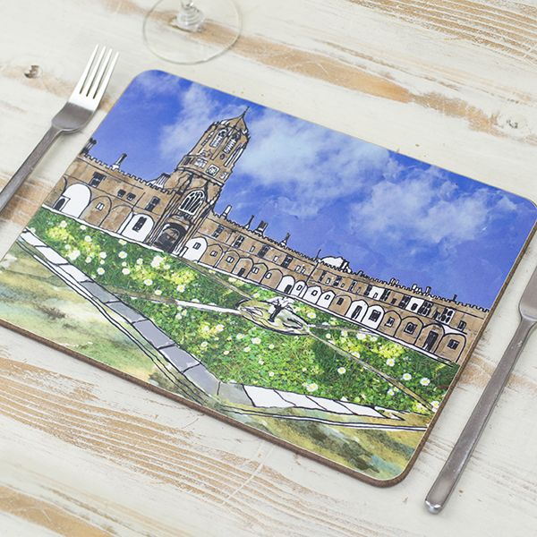 Christ Church Quad Oxford Placemat