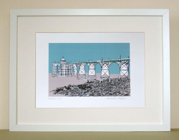 Clevedon Pier Bristol Print