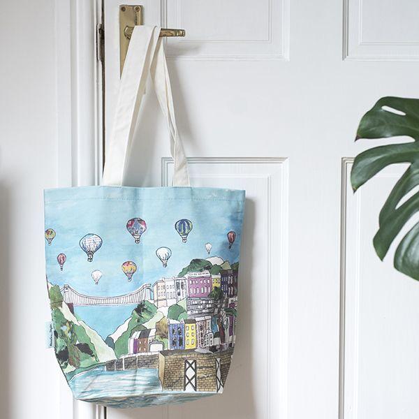 Clifton Balloons Bristol Tote Bag