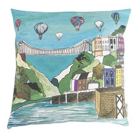 Clifton Balloons Cushion