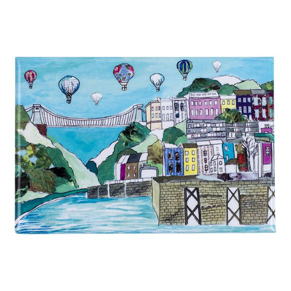 Clifton Balloons Bristol Fridge Magnet