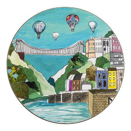 Clifton Balloons Teapot Stand Circular
