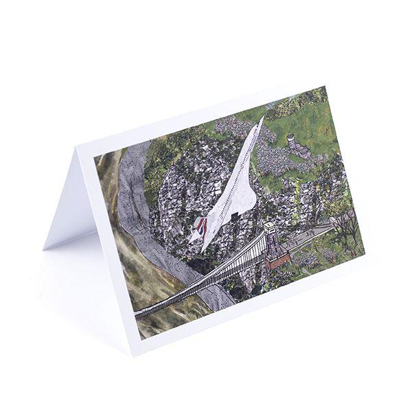 Concorde's Last Flight Greetings Card