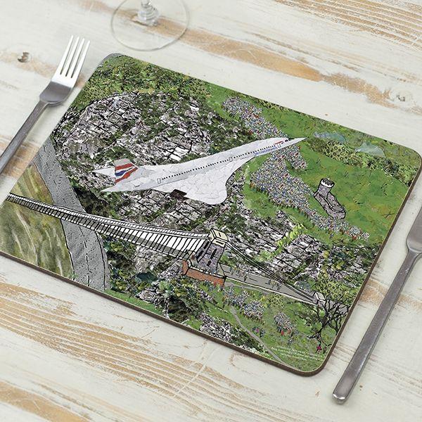 Concorde's Last Flight Placemat