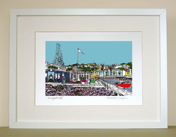 Dockyard Cafe Bristol Print