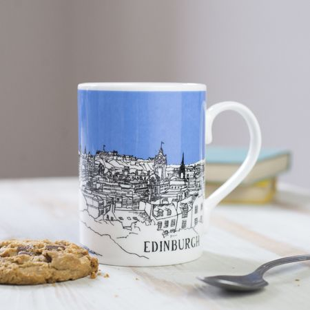 Edinburgh Mug Blue