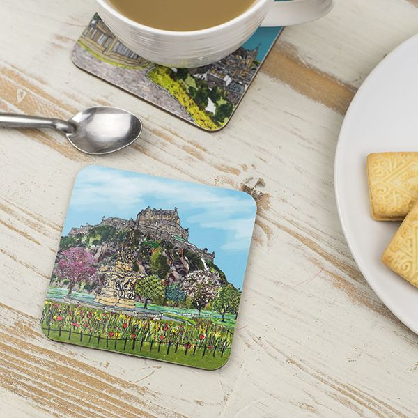 Edinburgh Castle Coaster
