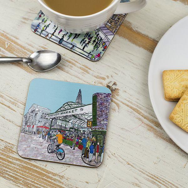 Borough Market London Coaster