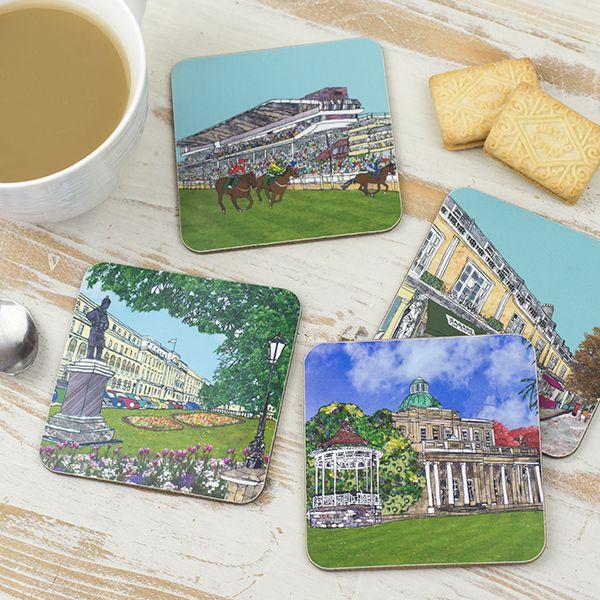 Set of Four Cheltenham Coasters