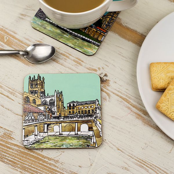 Roman Baths Coaster