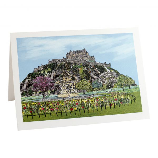 Edinburgh Castle Greetings Card