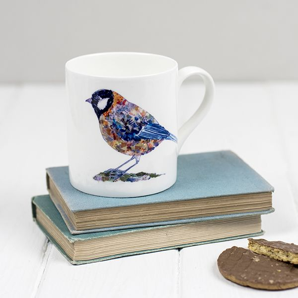 Great Tit Fine Bone China mug
