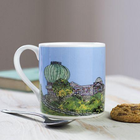 Greenwich Observatory London Bone China Mug