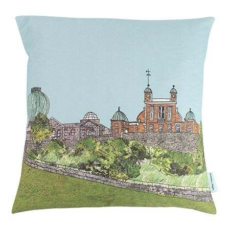 Greenwich Observatory London Cushion cover
