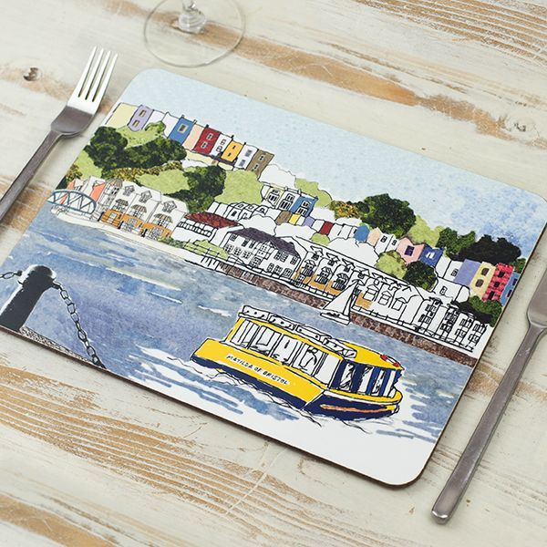 Harbourside View Bristol Placemat