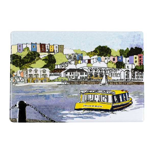Harbourside View Bristol Fridge Magnet