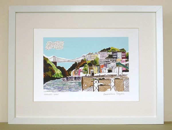 Hotwells View Bristol Print