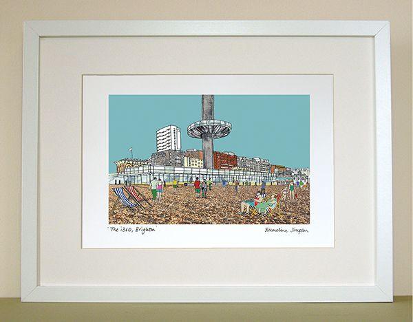 i360 Brighton A4 Print