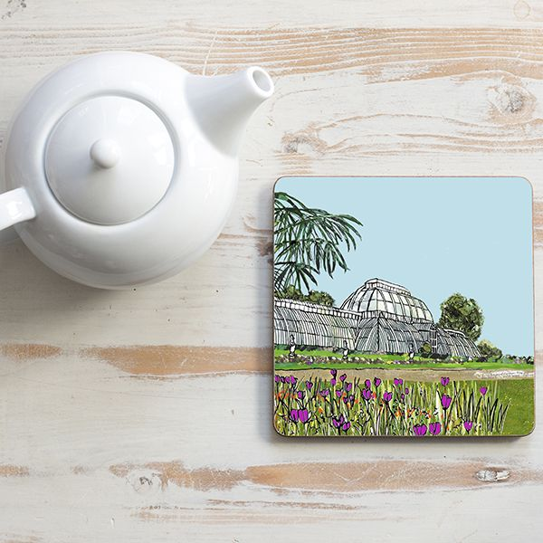 Kew Gardens London Teapot Stand Square