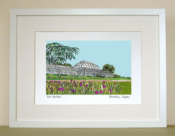 Kew Gardens A4 Signed Print