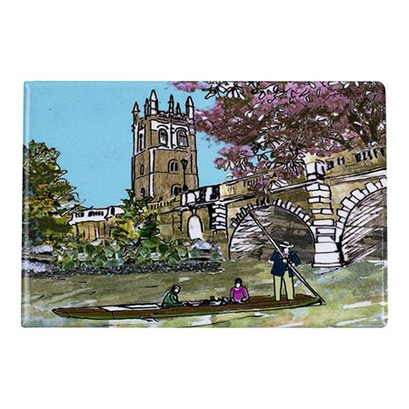 Magdalen Bridge Oxford Fridge Magnet
