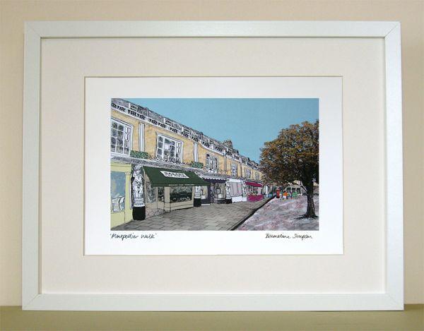 Montpellier Walk Cheltenham Print