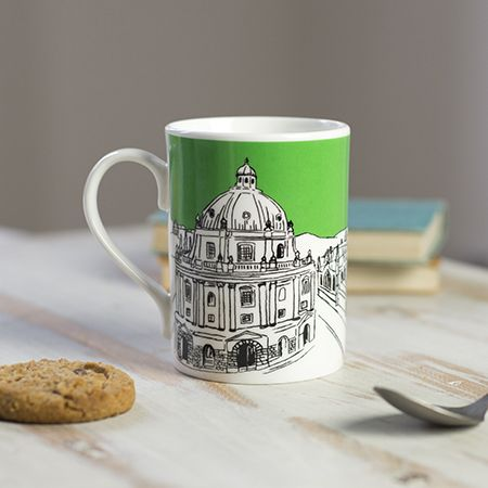 Oxford Skyline Mug Green