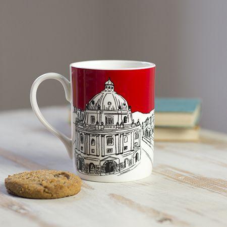 Oxford Skyline Mug Red