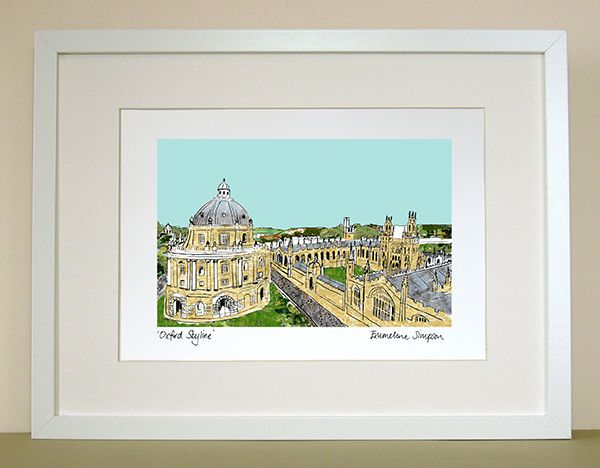 Oxford Skyline Print