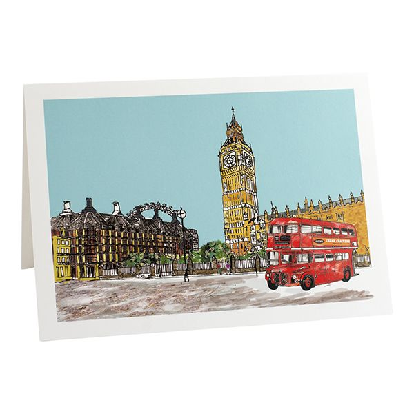 Parliament Square Greetings Card