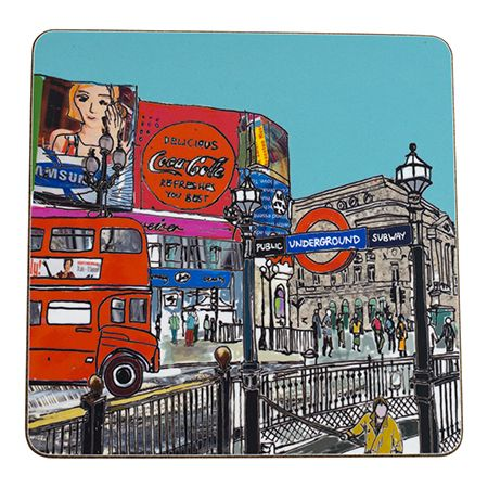 Piccadilly Circus Teapot Stand Square