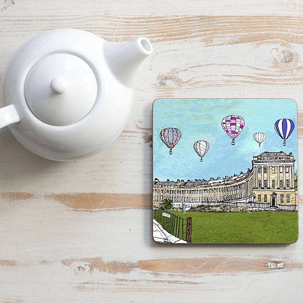 Bath Royal Crescent Teapot Stand Square
