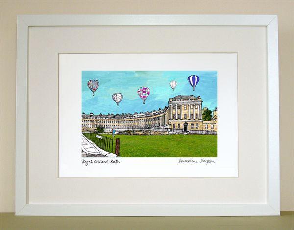 Royal Crescent Bath Print