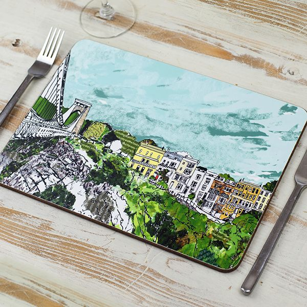 Sion Hill Bristol Placemat