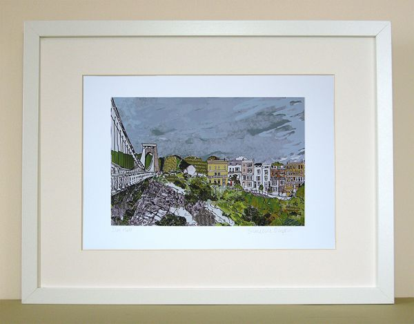 Sion Hill Bristol Print